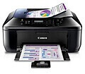 Máy in phun màu đa chức năng Canon Pixma E610 In,scan,copy,Fax ,ADF