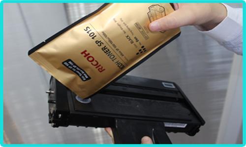Đổ mực máy in Photocopy Ricoh