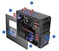 Vỏ máy tính CoolerMaster K280 USB3 RC-K280-KKN1