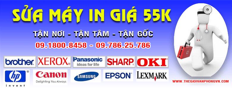 Sửa máy in tại nhà ở Hà Nội và trên Toàn Quốc thấp nhất