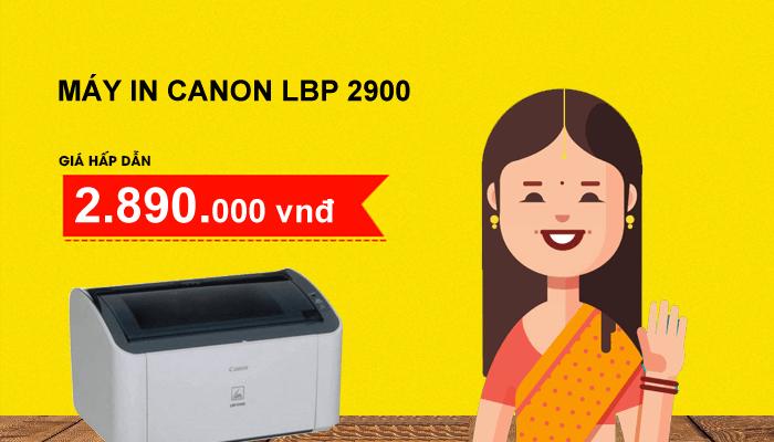 Máy in Canon Laser LBP 2900 chính hãng giá tốt nhất